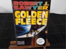 Golden Fleece ~ Sawyer ~ Signed 1990 1st Ed