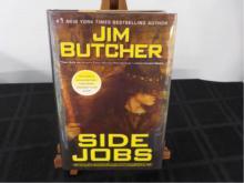 Side Jobs ~ Jim Butcher ~ Signed 1st 2010