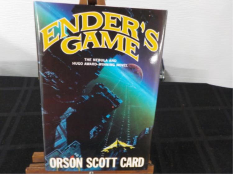 Ender's Game ~ Card ~ Signed Hardcover 1991