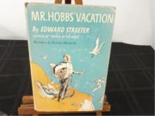 Mr. Hobb's Vacation ~ Streeter ~ Signed in 1954