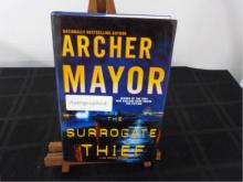 The Surrogate Thief ~ Mayor ~ Signed 1st 2004