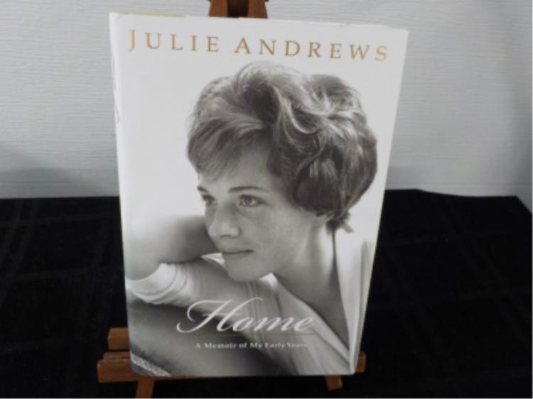 Home Memoir of Early Years ~ Julie Andrews ~ Sign