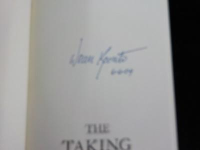 The Taking ~ Koontz ~ Signed 2004 Bantam