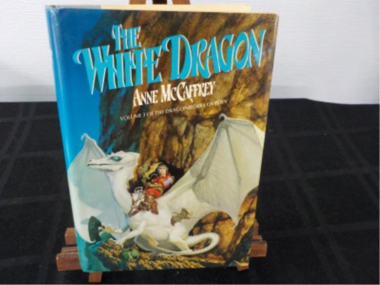 The White Dragon ~ McCaffrey ~ 1978 Signed 1st