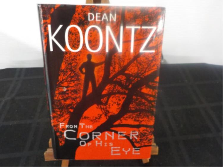 From the Corner of His Eye ~ Koontz ~ signed