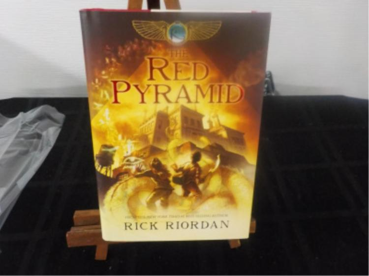 The Red Pyramid ~ Riordan ~ Signed 1st Ed 2010