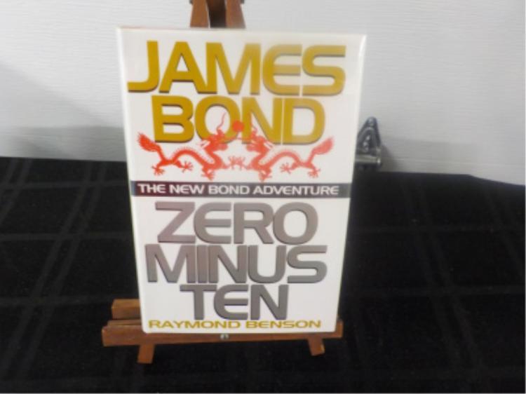 Zero Minus Ten James Bond ~ Benson ~ Signed