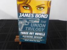 James Bond the Union Trilogy ~ Benson ~ Signed 1st