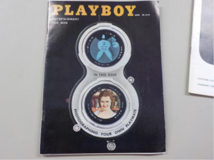 Playboy Magazine June 1958