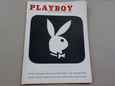 Playboy Magazine April 1956