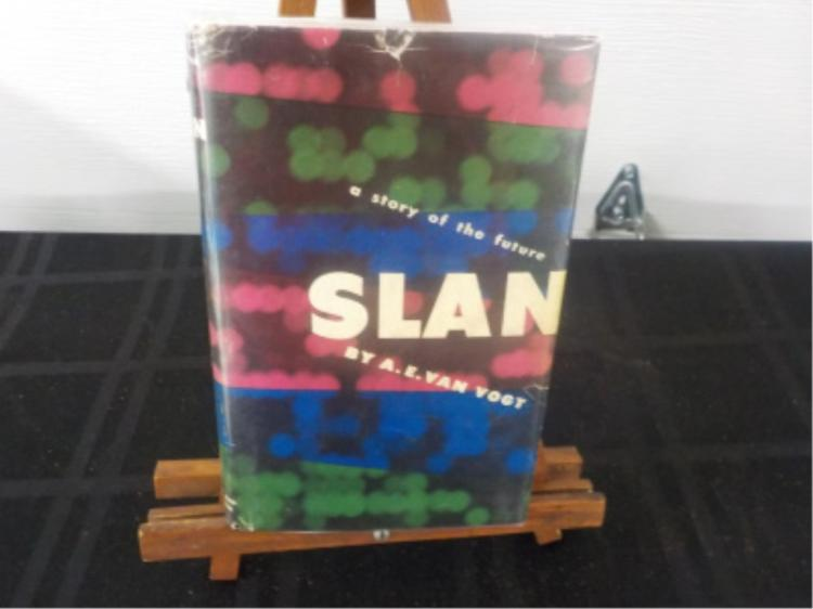 Slan: A Story of the Future ~ AE Van Vogt ~ Signed
