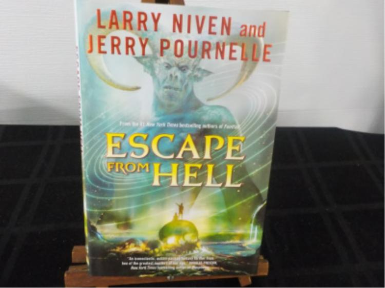 Escape From Hell ~ Niven/Pournelle ~ Signed 1st