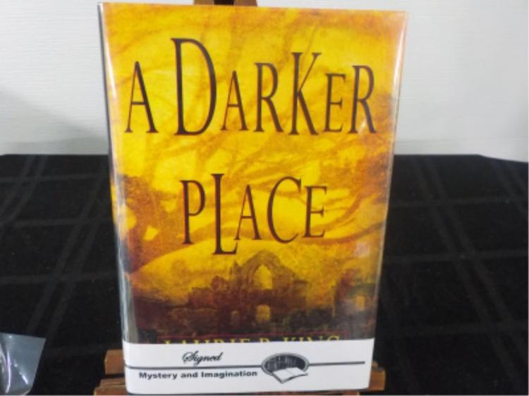 A Darker Place ~ Laurie R King ~ Signed 1st 1999