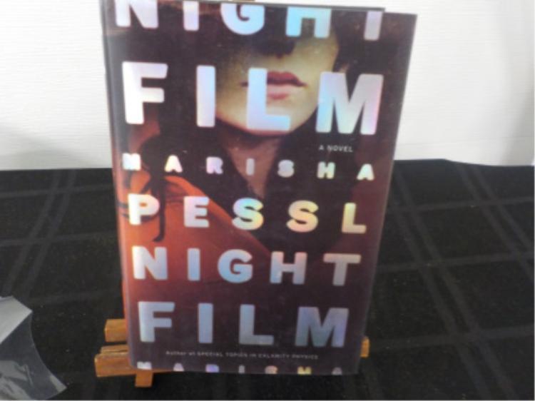 Night Film ~ Marisha Pessl Signed 1st Ed 2013