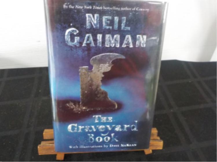 The Graveyard Book ~ Neil Gaiman ~ Signed 1st 2008
