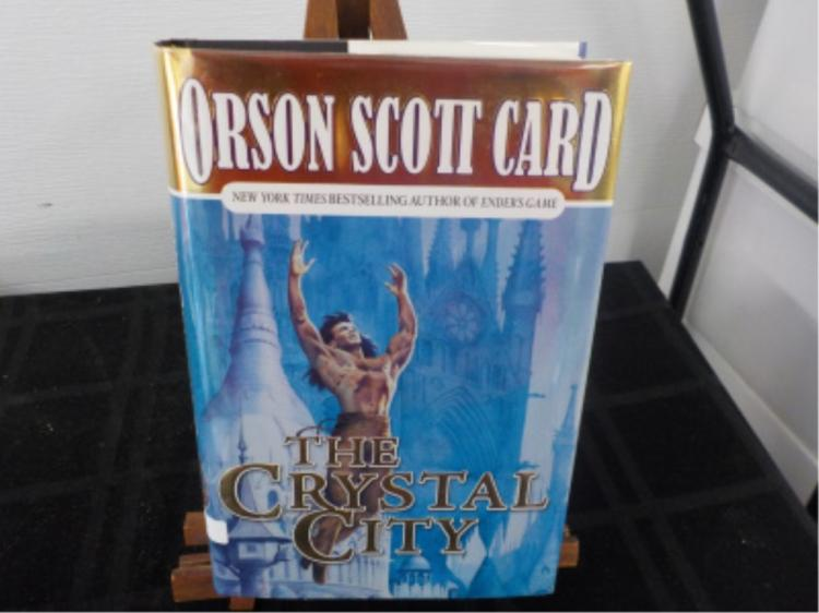 The Crystal City ~ Orson Scott Card ~ Signed 1st