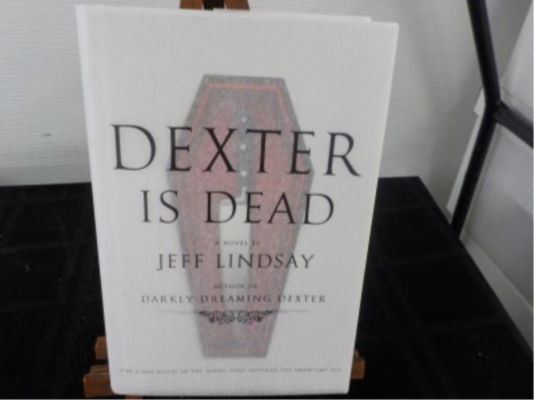 Dexter is Dead ~ Jeff Lindsay ~ Signed/Sketched
