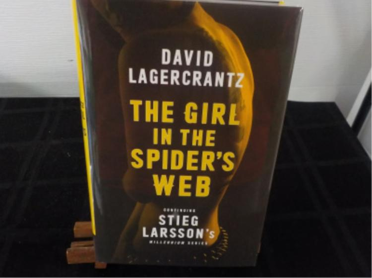 The Girl in the Spider's Web ~ Stieg Larsson