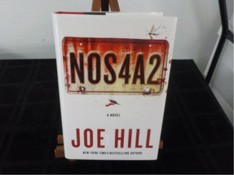 NOS4A2 ~ Joe Hill ~ signed 2013 1st