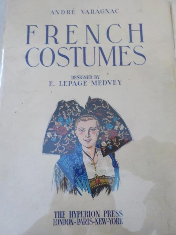 French Costumes ~ Andre Varagnac ~ MCMXXXIX