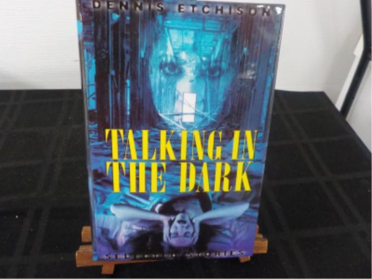 Talking in the Dark ~ Dennis Etchison ~ Signed