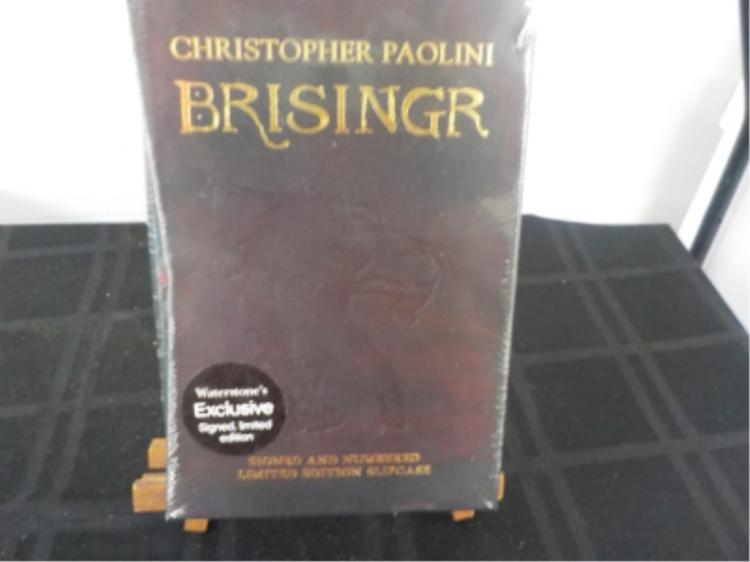 Brisinger ~ Christopher Paolini ~ Sealed Signed
