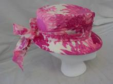 Pink Easter Hat with Ribbon by Lilly Dache'