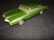 1970 Green Ford Thunderbird Promo Model