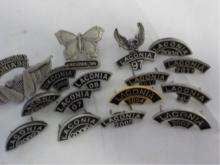 ~15 Laconia NH Motorcycle Pin Backs Various Years