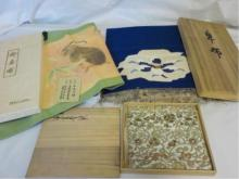 3 Vintage 1960-70 Asian Cloths in Original Boxes