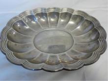 Gorham Silver 977 Scalloped Platter