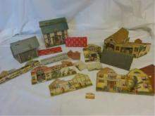 Vintage 1930-40's Cardboard Village to build