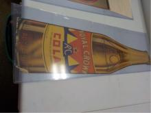 Royal Crown Cola Advertising Sign 1930's