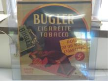 Bugler Cigarette Tobacco Advertising Poster