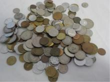 Bag Lot of Foreign Coins Different Countries ~100