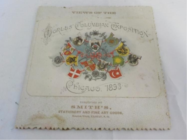 World's Columbian Exposition Chicago 1893 Souviner