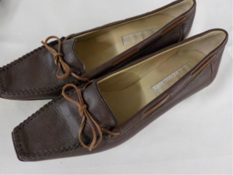 MICHAEL KORS Brown Leather Shoes 7 1/2