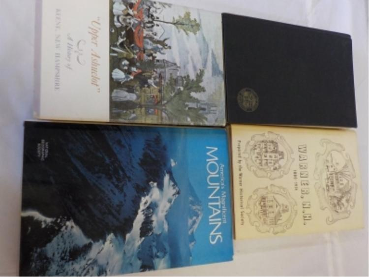 3 Keene NH & Area Historical Books & Mountains