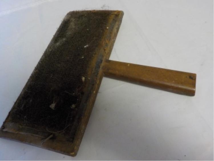 Antique llama Wool Carder or Comb