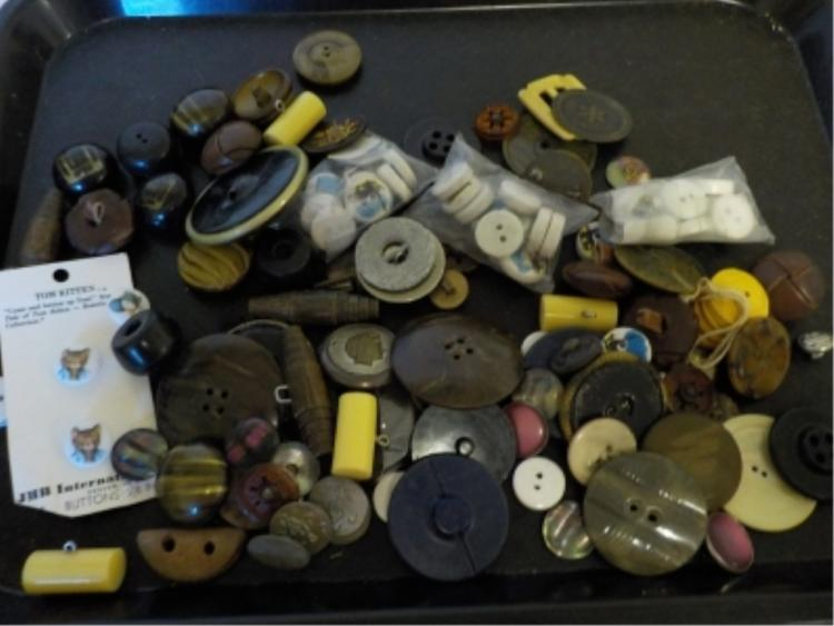 ~13 oz Buttons - Cat, Goose, Leather, Misc Shapes