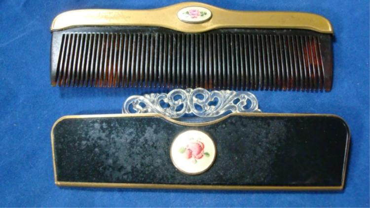 2 Compact Combs 1 with Case