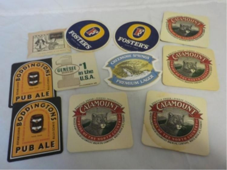 11 Drink Coasters Foster, Catamount