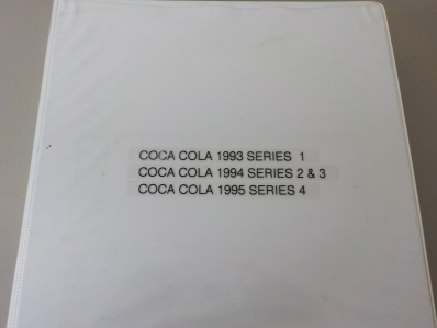 Coca Cola Advertising Cards 1993-94-95 Series 1-4