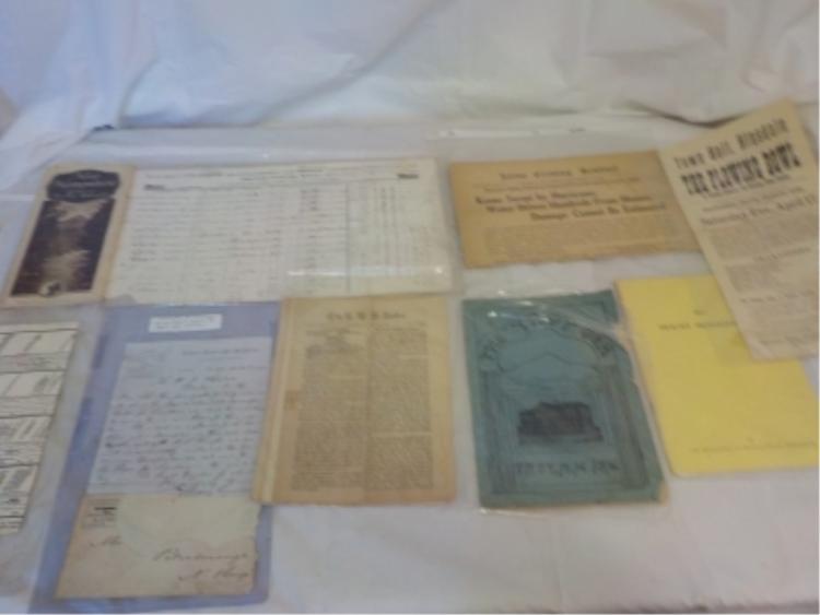 Paper Lot - Keene, Hinsdale, Brattleboro