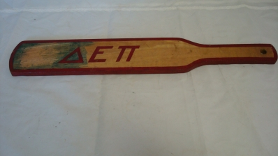 Early 1930's Fraternity Paddle with Signatures