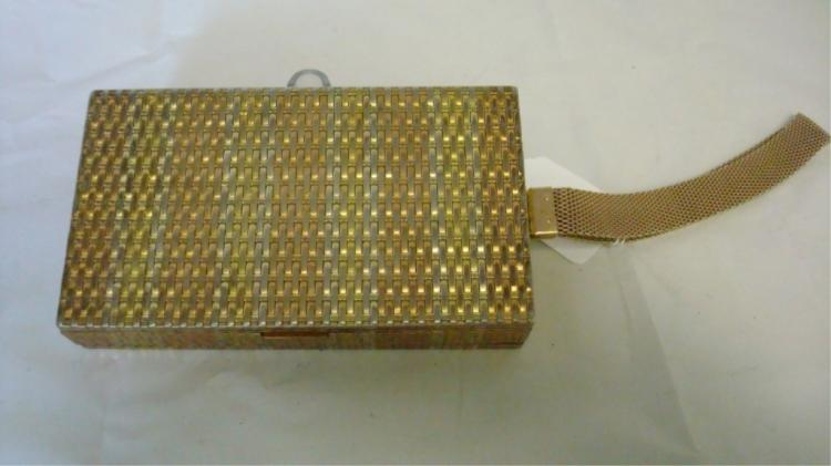 Evans Basket Weave 2-Sided Compact