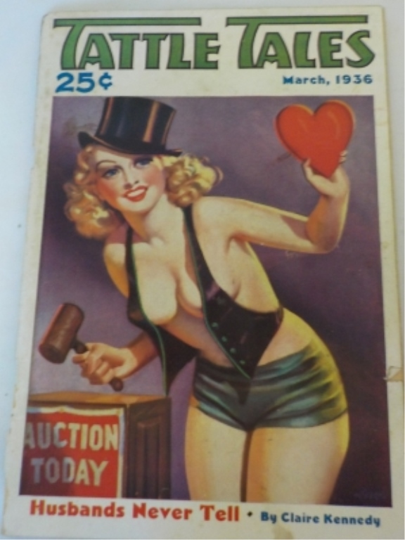 Tattle Tales March 1936 Auction Day Magazine