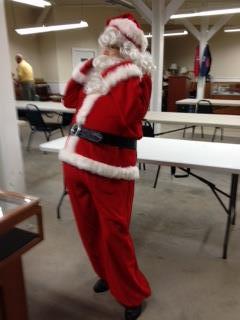 1960's Complete Santa Suit