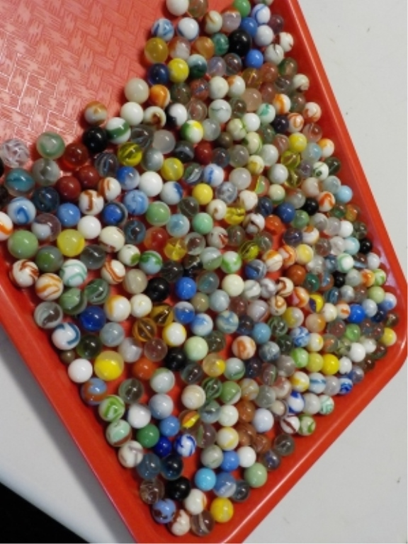 Bag Full of Marbles ~150 Played With