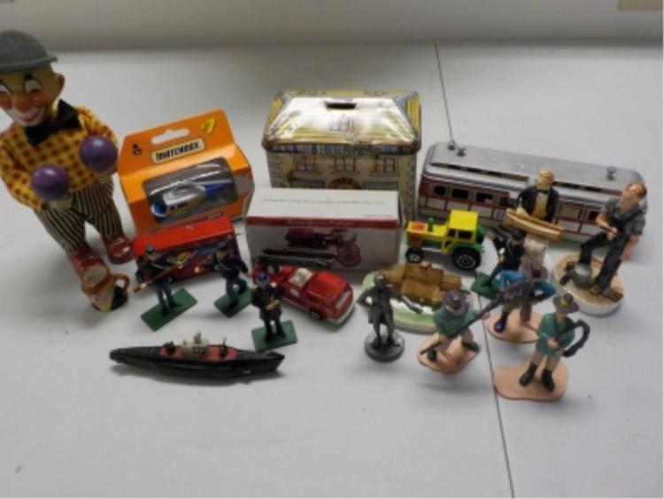 Box Lot of Toy Soldiers, Cowboys